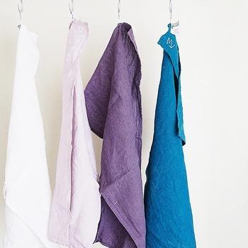 水洗いでざっと汚れをとったら洗剤洗い、そのあとは漂白をするのがベスト。
