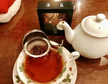 本紅茶協会の「おいしい紅茶の店」認定店という事もあり、おうちでは味わう事のできない細かい紅茶の風味を楽しむ事ができます。