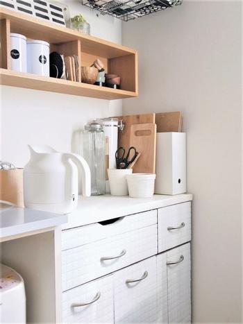 一人暮らしだと、大きな電気ポットは使いきれないし、いちいち少量のお湯をやかんで沸かすのも面倒ですよね。そんな時は無印良品の「電気ケトル」がおすすめですよ◎