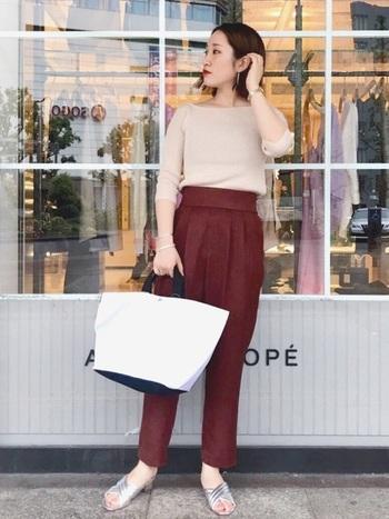 オールホワイトの別注トートは、ADAM ET ROPÉ(アダム エ ロペ)の別注アイテム。各ファッションブランドや雑誌の企画など別注シリーズはとにかく毎回大人気です!
