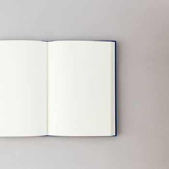見た目の割には、とっても軽いのが特徴的。 こんな、気取らないノートがおうちに一冊あっても楽しいですね♪