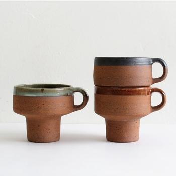 インテリアデザインなどを中心に手掛けているデザイン集団、「Landscape Products(ランドスケープ プロダクツ)」が販売する「KAJIKI CLAY MUG(カジキ クレイ マグ)」。
