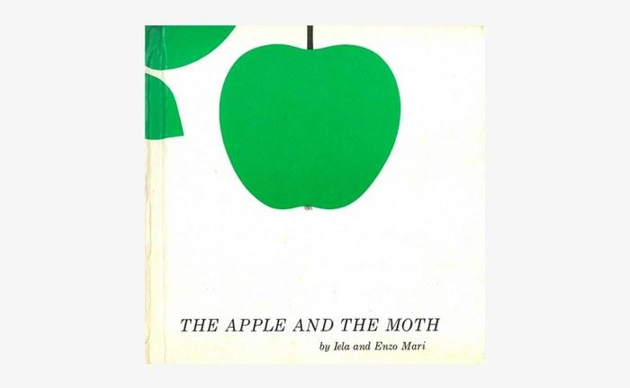 リンゴをモチーフにしたとてもきれいな絵本「The Apple and the Moth」。ひとつのリンゴから芋虫が蝶々になって飛び立っていく様子が、きれいにシンプルに描かれています。