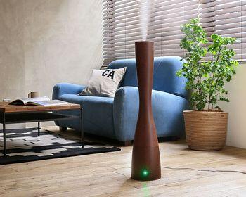 空気清浄機以外に加湿器もおすすめです。適度な湿度がデリケートになりやすい喉や鼻に心地良く、空気中で花粉が舞うのも防いでくれますよ。好きな香りを楽しみながら、リフレッシュするのも◎  ▷超音波式アロマ加湿器 Sablier Wood(サブリエウッド)