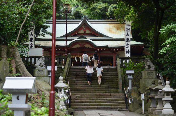 【近年特に人気の高い熱海のパワースポット「來宮神社」】