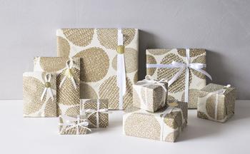 ■包装紙・平紙袋(無料) タマゴ柄が可愛らしいオリジナルラッピング。鳥モチーフの小物にぴったりの包装紙です♪