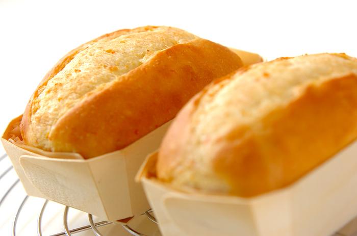 朝食にぴったりなパンにもにんじんを使って栄養素をプラスしちゃいましょう。ふわふわの食感とやさしい甘さが嬉しいですね。