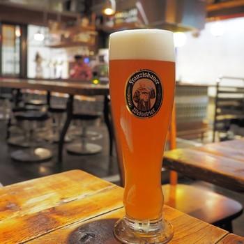 ビールは豊富に揃っているので、飲み比べてみたり、気分に合わせて選ぶ楽しみがありますよ。