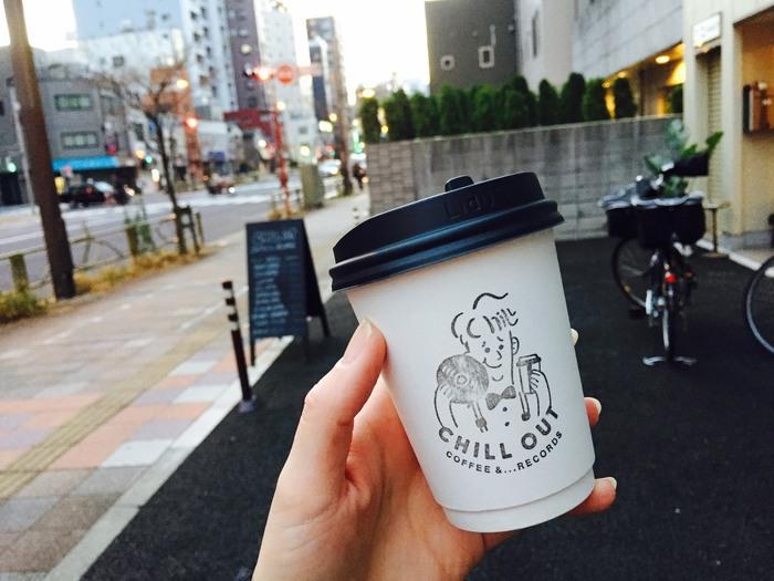 コーヒーなどはテイクアウトも可能なので、両国を散策しながらブレイクタイム出来ちゃいます♪オリジナルのロゴと一緒にスタンプされたキャラクターが、なんだか可愛らしいですね!