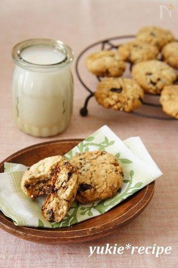 『ライスミルククッキー』  ホットケーキミックスで作るライスミルククッキー。ポリ袋を使うから、洗い物が減りとってもお手軽!