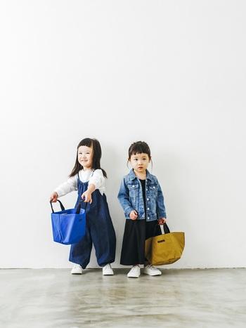 小さいサイズは、お子さんにも。 少し大人っぽいデザインを子どもが持つと、大人とは違う可愛さが生まれます。