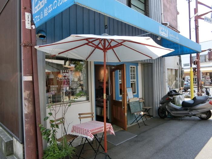 岡山駅からすぐ。北区奉還町にあるカフェ「ラステン アイカ」でもバムケロに出会えます♪