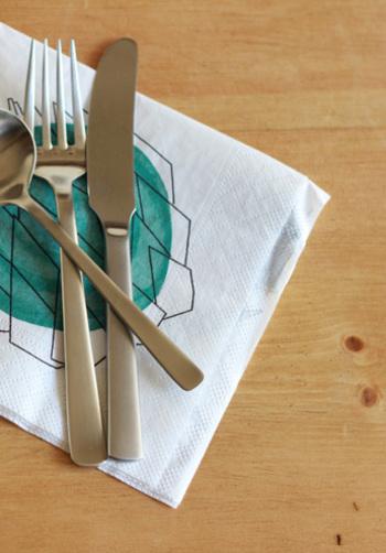 キッチンにストックしておくと便利なペーパーナプキン。可愛い柄を見つけると、ついつい買ってしまうという方も多いのではないでしょうか。