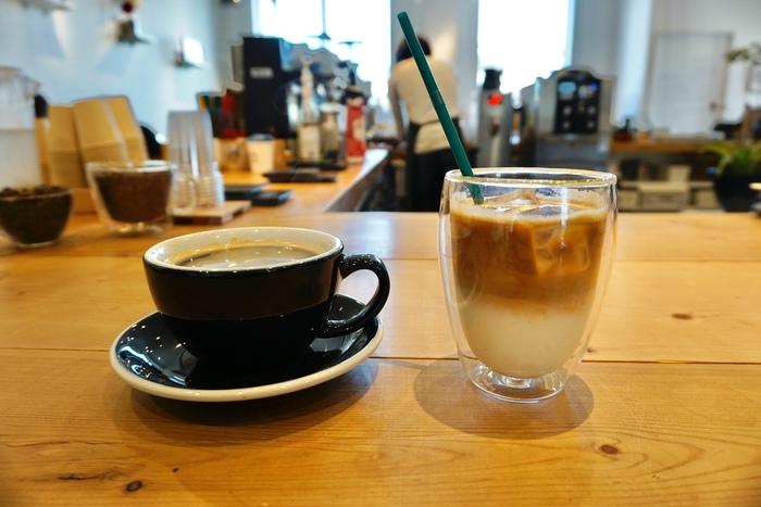 こちらではコーヒー豆と抽出方法を選べるので、自分好みの最高のコーヒーを見つけることができます。種類も多く、ショコラミントなどの変わり種も。コーヒーの新たな魅力に気付くきっかけにもなりそうですね。