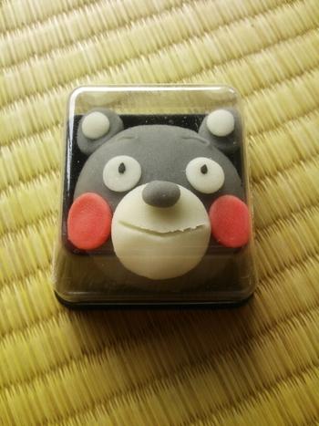 キュートなくまもんの和菓子も熊本ならでは。リアルな3Dくまもんは、熊本のお土産としてきっと喜ばれることでしょう。