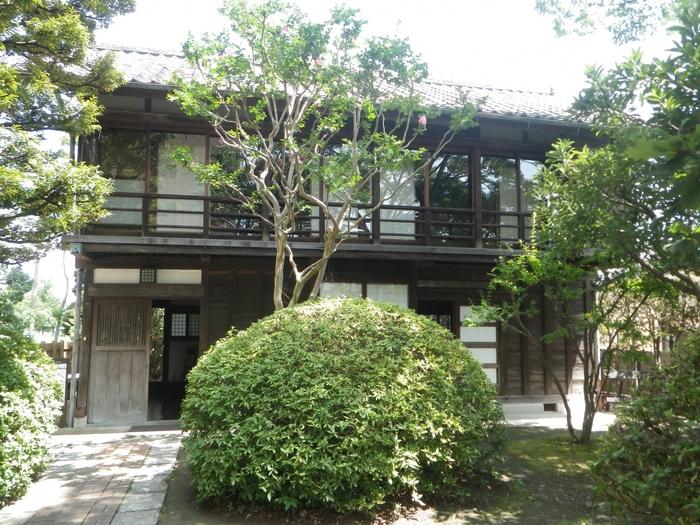 東京・蒲田から移築した自邸も日曜日・祝日に見学が可能です。
