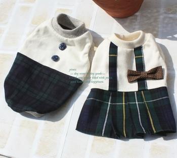 入園入学シーズンにはこんな制服スタイルがおすすめ。チェックのプリーツスカートが春風にゆれて、気分はまるでスクールガール♪男のコ用もあるのでチェックしてみてくださいね。