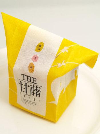 熊本県大津産のさつま芋と鹿児島の老舗の白餡を使用したスイートポテト「THE 甘藷 SWEET」も人気です。