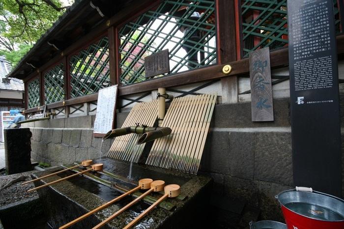 伏見にある御香宮神社の境内にある湧水で、飲料用としてはもちろん、茶道用や書道用に持ち帰る人もいるんだとか。水ひとつでも京都ならではの文化が垣間見れます。