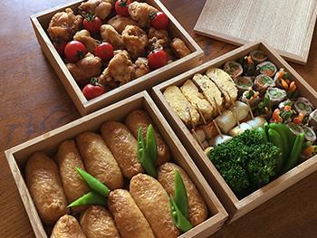 行き先や人数によって、作る量や品数、容器などを変えれば、毎日の通勤・通学のお弁当から、行楽のお弁当までカバーできますよ。