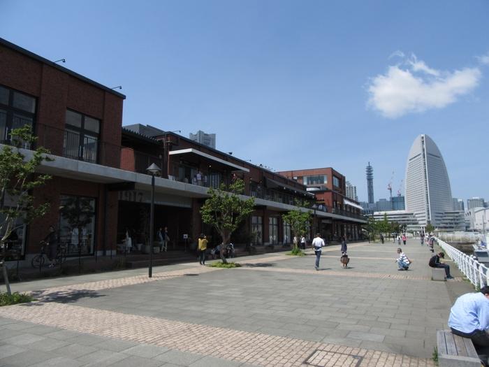 よこはまコスモワールドや横浜赤レンガ倉庫など人気の観光スポットが多く集まっている横浜市中区新港。「MARINE & WALK YOKOHAMA(マリン アンド ウォーク ヨコハマ)」も、海に面したショッピングスポットとして人気があります。