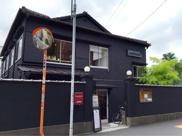 東京メトロ千代田線の千駄木駅より徒歩約6分の距離にある「HAGI CAFE (ハギ カフェ)」。