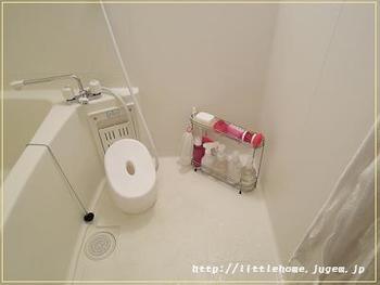 ぬめり・水垢がたまりやすいといえばお風呂も代表的ですよね。  こちらも、習慣付けで簡単にぬめり・水垢対策ができ、きれいなバスルームが保てます。