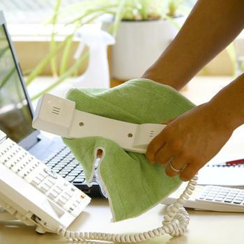 上記のMQ・Duotex プレミアムモップと同じスウェーデンのMicro System社の「MQ・Duotex ニットクロス」も拭き掃除に役立ってくれます。