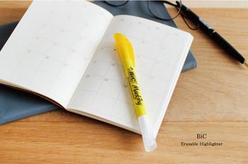 受験生や試験勉強している大切な人へのプレゼントにおすすめなのがフランスの「BiC(ビック)社」製の蛍光マーカーです。一見、どこにでもありそうな蛍光ペンですが、あっと驚くような仕掛けがあるんです!