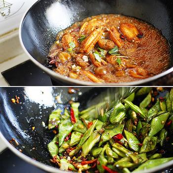 花椒は「中国山椒」「四川山椒」とも呼ばれ、山椒と同じ、ミカン科サンショウ属の落葉低木。山椒のややおだやかな辛みに比べ、花椒はしびれるようなパンチのある辛さ。また、花椒は実(果皮)を乾燥させた香辛料ですが、山椒は実・若葉・木の芽などさまざまな部位を薬味などで使うのも特徴です。