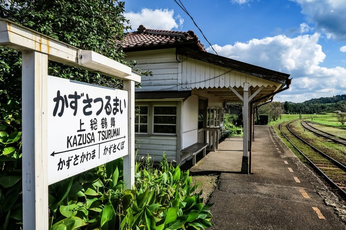 昔懐かしいのどかな風景…どこかで見たことはありませんか?実はテレビドラマやCMの撮影などで多く使用されているそうです。そして、関東の駅100選にも選ばれているのですよ。