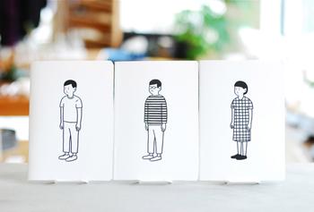 同じイラストのノートブックもあります。テイストが同じだから、iPhoneケースとイラストを変えて楽しんでも◎。