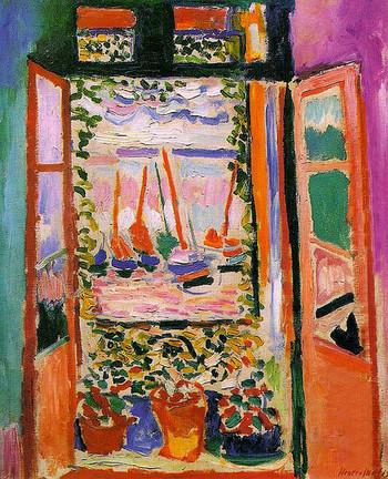 その後、ラッセルやゴッホといった後期印象派の影響を受け、自由な色彩による表現に出会い、のちにフォービズムと呼ばれることとなる自らの絵画のスタイルが生まれました。