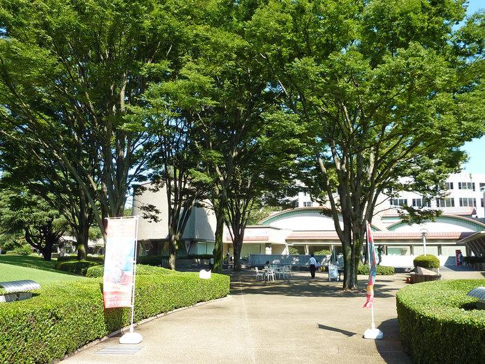 1986年に立てられた世田谷美術館は、日本建築史を代表する一人 内井昭蔵氏によりの設計されました。内井氏は、この作品で毎日芸術賞・日本芸術院賞を受賞しています。