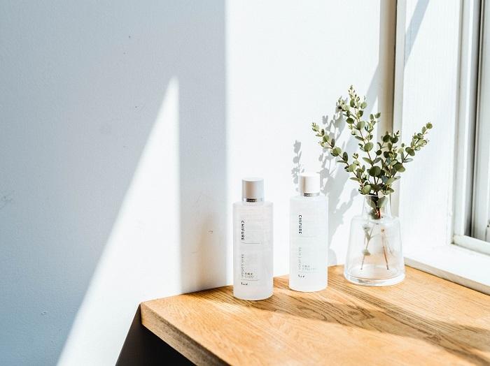 おすすめの化粧水は、とてもしっとりタイプ、しっとりタイプ。使いごこちや好みに合わせて選ぶことができます
