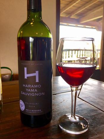 せっかくワイナリーを訪れたなら、ワインもいただきたいですよね。原茂ワインでは、地元の農家さんと契約した畑でシャルドネ、メルロ、ヤマソーヴィニオンなどのぶどう品種を栽培してワインを作っています。その量は、年間で50キロリットルも。こだわりの味をランチと一緒に楽しんでみませんか?