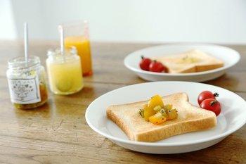 パンの時間がもっと好きになる。【ジャム】を楽しむテーブルウェア