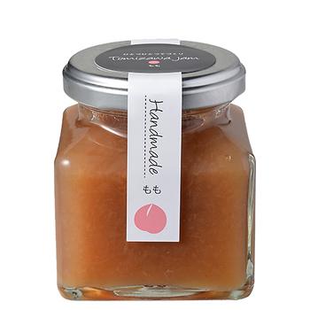 九州産の桃を使い、瓶入添加物を使わずに果物とお砂糖だけで作られたジャムは素材の味をしっかりと感じられ、後味も良いので、あっという間になくなってしまいそう。