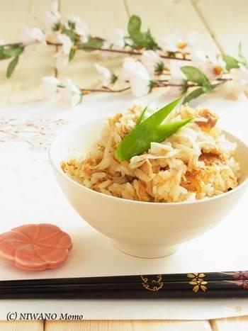 切り干し大根を炊き込んだご飯は、旨味たっぷりの深い味わい。お米の吸水と切り干し大根の戻しを同時に行うので、作業時間5分であとは炊くだけでOK!