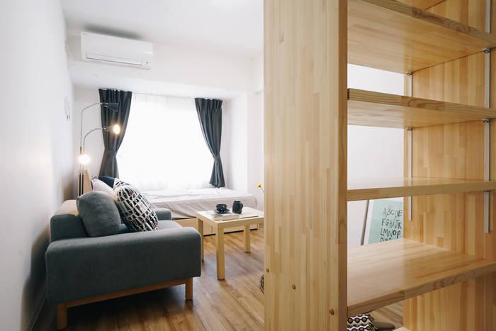 また、物量に見合った収納家具も早めに準備しておいたほうが、引っ越しの片付けが楽に◎ 大きな家具ほどまっさらなお部屋のうちに搬入しておきたいですね。