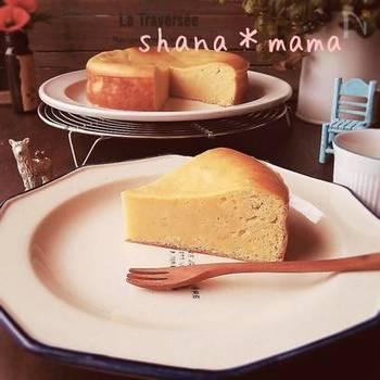 子供達のおやつの時間にも作ってあげたい、サツマイモを使ったスイートポテトケーキ。混ぜて焼くだけの簡単レシピで、食物繊維を美味しく頂きましょう!