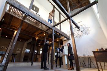 ■ ギャラリー「HAGI ART」 カフェに併設しているギャラリーでは、展示や音楽イベントなども開催しています。