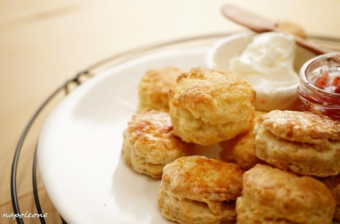 おやつに。朝食に。実はとっても簡単なスコーンの作り方&アレンジレシピ♪