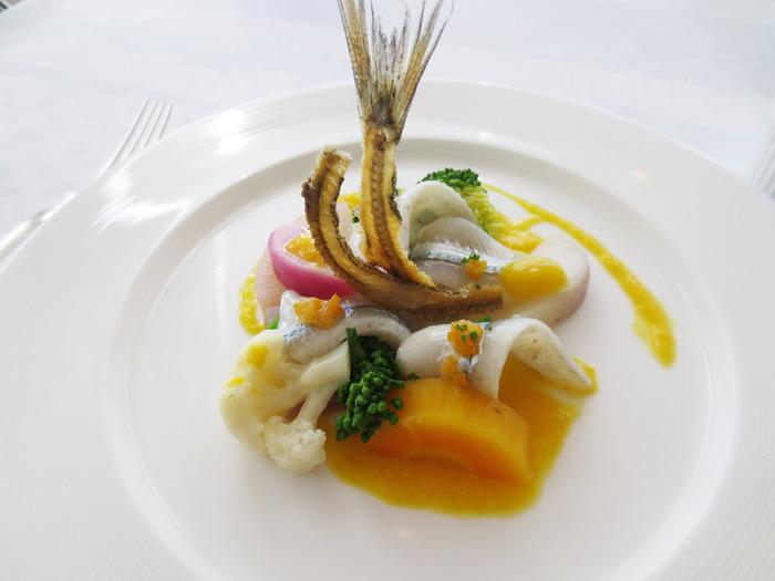 ■レストラン「潮騒」 相模湾の海の幸よ三浦半島の山の幸を使ったお料理を味わえます。また、レストランからの眺望は、南仏のリゾート地コートダジュールを彷彿させるそうですよ。