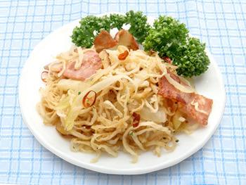 パスタとして馴染みがあるペペロンチーノの風味を切り干し大根に合わせたレシピです。甘味と辛みが絶妙なんだとか!