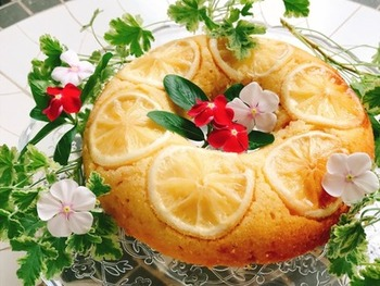これからの季節にピッタリなのが、冷やして食べるレモンケーキ。甘酸っぱいレモンと、優しい甘さの生地が、絶妙なバランスのお菓子です。牛乳とレモン汁の配合を工夫すれば、自分好みの味を探すこともできます。レモンの見た目もキレイなので、おうちパーティーやお持たせとしても活躍してくれそう。