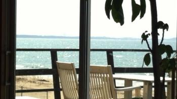 天気のいい日はぜひテラス席へ。潮風を感じながらの食事は最高です!