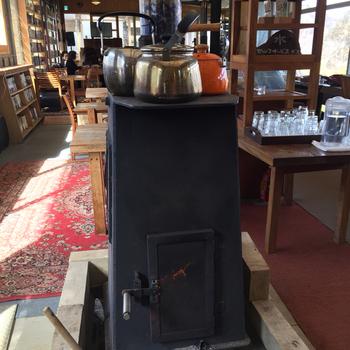 薪ストーブに火が入る冬も楽しみ♪