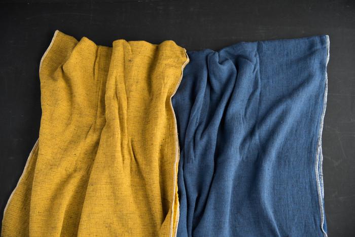 素材は綿100%でサラサラな触り心地。速乾性に優れ、使うごとにしなやかになり、より体に密着してくれるタオルなんです。