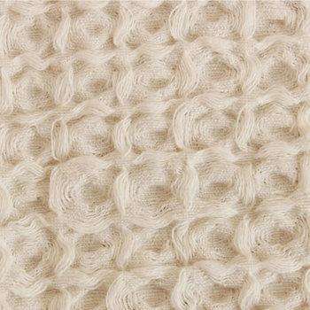 優しく膨らんだワッフルは柔らかくドライな肌触り。素材そのものを生かしたナチュラルな色合いでとってもおしゃれです。